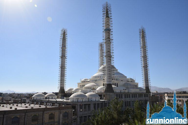 Мечеть Маккий, самая большая мечеть суннитов в Иране
